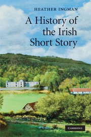 Cover of: A history of the Irish short story | Heather Ingman