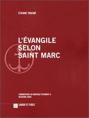Cover of: L' évangile selon saint Marc