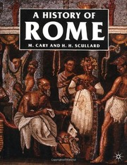 Cover of: A History of Rome | M. Cary, H. H. Scullard