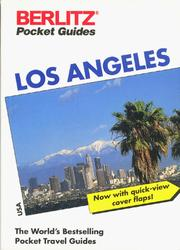 Cover of: Los Angeles Pocket Guide