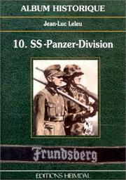 "Cover of: 10. SS-Panzer-Division ""Frundsberg"""