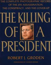 Cover of: The killing of a president