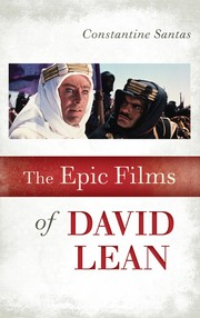 Cover of: The epic films of David Lean | Constantine Santas