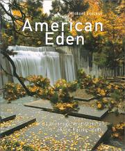 Cover of: American Eden | Michael Leccese