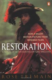 Cover of: Restoration: a novel of seventeenth-century England