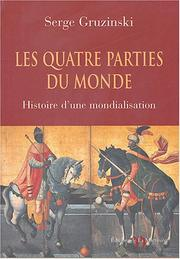 Cover of: Les quatre parties du monde