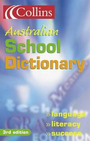Cover of: Collins New School Dictionary |