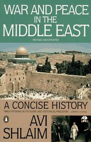 Cover of: War and peace in the Middle East: A Concise History