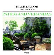 Cover of: Patios and Verandas (Elle Decor Portfolios) | Editors of Elle Decor