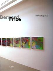 Cover of: Bernard Frize