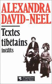 Cover of: Textes tibétains inédits