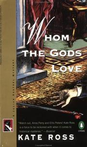Cover of: Whom the Gods Love