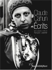 Cover of: Les Ecrits De Cahun