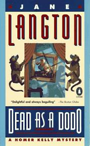 Cover of: Dead As a Dodo (Homer Kelly Mystery) | Jane Langton