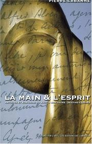 Cover of: La main et l'esprit