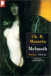 Cover of: Melmoth, l'homme errant | Charles Robert Maturin