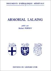 Cover of: Armorial Lalaing