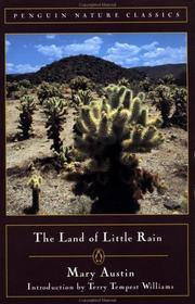 Cover of: The  land of little rain | Mary Austin