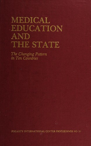 Medical education and the state by Ronald V. Christie