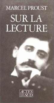 Cover of: Sur la lecture