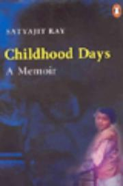 Cover of: Childhood days: a memoir