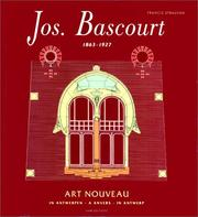 Cover of: Jos. Bascourt, 1863-1927: Art nouveau