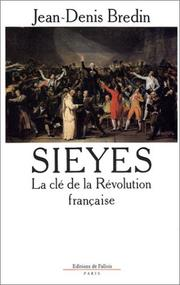 Cover of: Sieyes