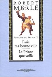 Cover of: Fortune de France, volume II