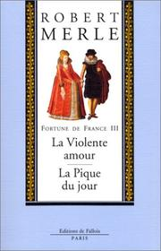 Cover of: Fortune de France, volume III