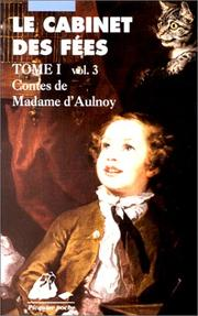 Cover of: Cabinet des fées, tome1, volume 3
