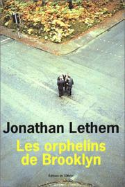 Cover of: Les Orphelins de Brooklyn