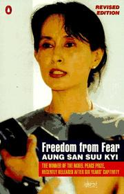 Cover of: Freedom from fear and other writings