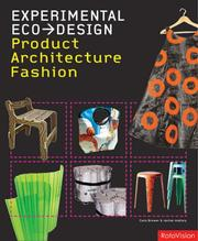 Cover of: Experimental Eco-Design | Cara Brower