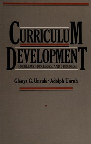 Cover of: Curriculum development | Glenys G. Unruh