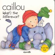 Cover of: Caillou What