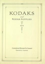 Kodaks and Kodak supplies, 1914.
