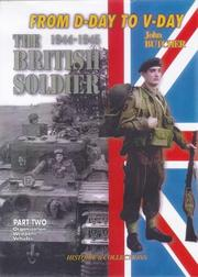 Cover of: The British Tommy in North-west Europe, 1944-1945 | Jean Bouchery