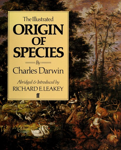 (The  origin of species). The illustrated origin of species by Charles Darwin