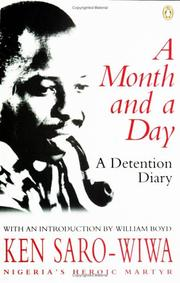 Cover of: A Month and a Day