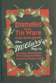 Enamelled and tin ware catalogue