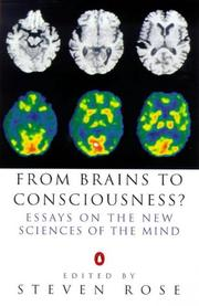 Cover of: From Brains to Consciousness? (Allen Lane Science)