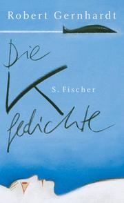 Cover of: Die K-Gedichte