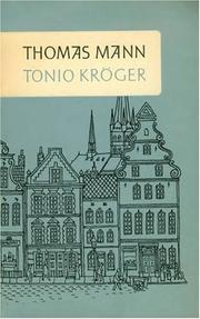 Cover of: Tonio Kröger
