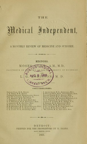 The Medical independent by