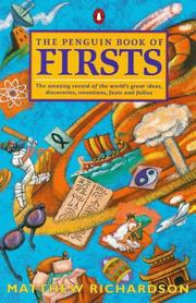 Cover of: The Penguin Book of Firsts