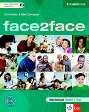 Cover of: face2face Intermediate Student