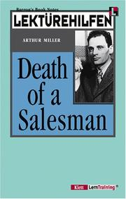 Cover of: Lektürehilfen Miller Death of a Salesman. Materialien. (Lernmaterialien) | Arthur Miller, Liza McAlister Williams, Kent Paul