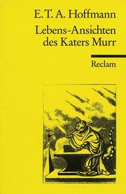 Cover of: Lebensansichten des Katers Murr