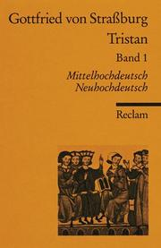 Cover of: Tristan: Band 1