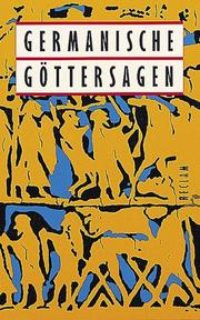 Cover of: Germanische Göttersagen